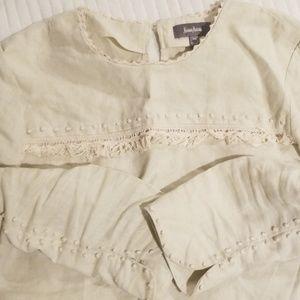 Neiman's Marcus linen blouse